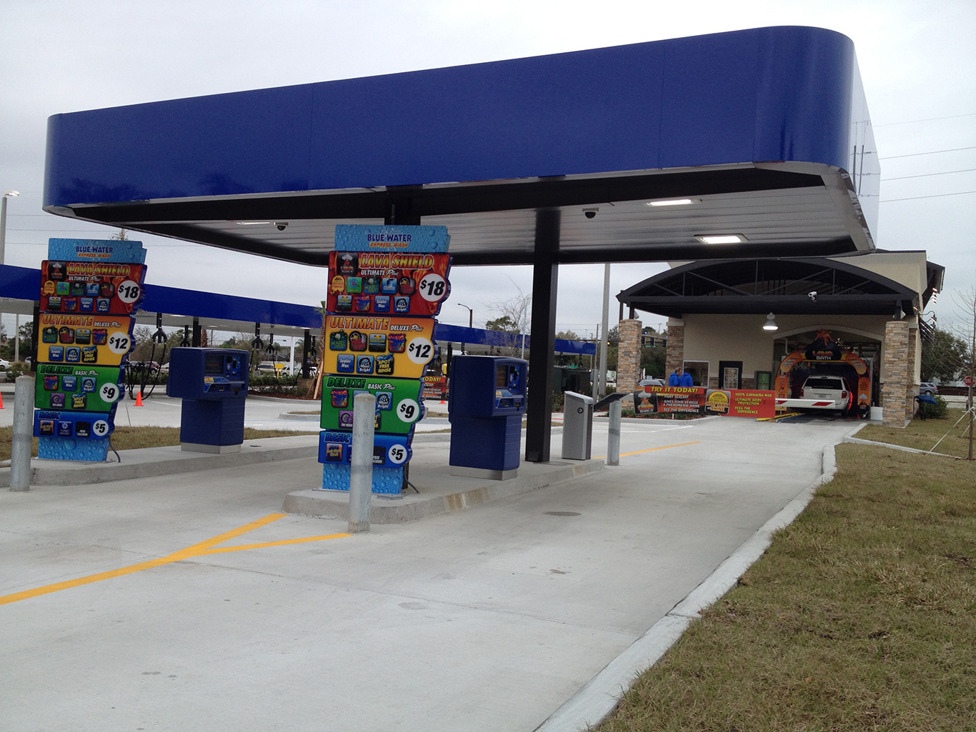 Car Washes/Vacuum Canopies – C&S Canopy