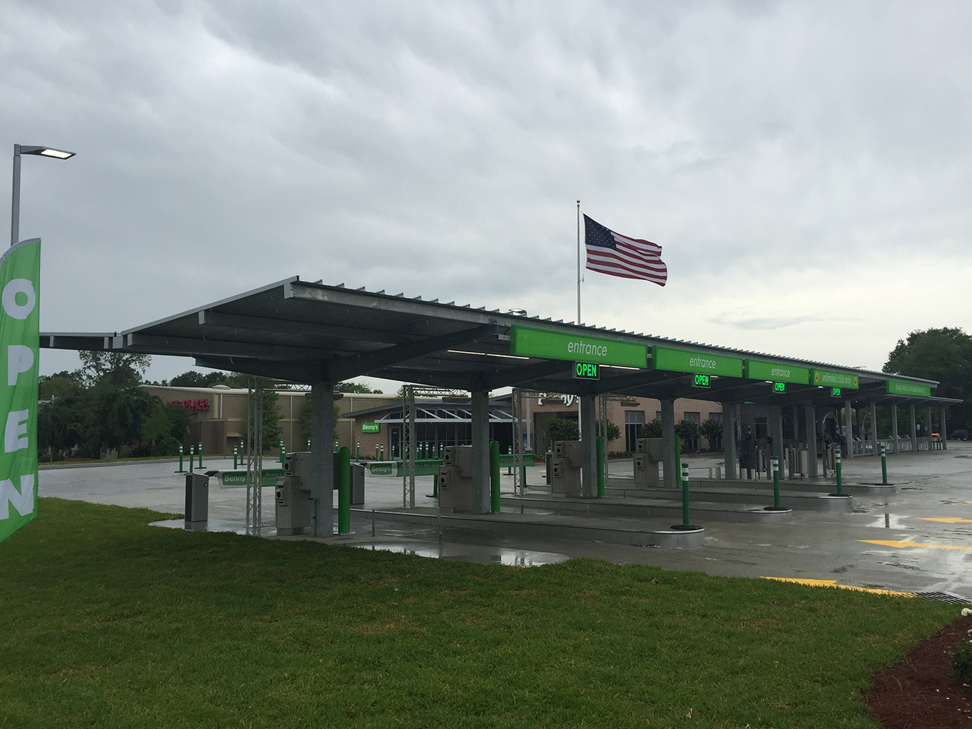 car washesvacuum canopies cs canopy - Open Canopy 2016