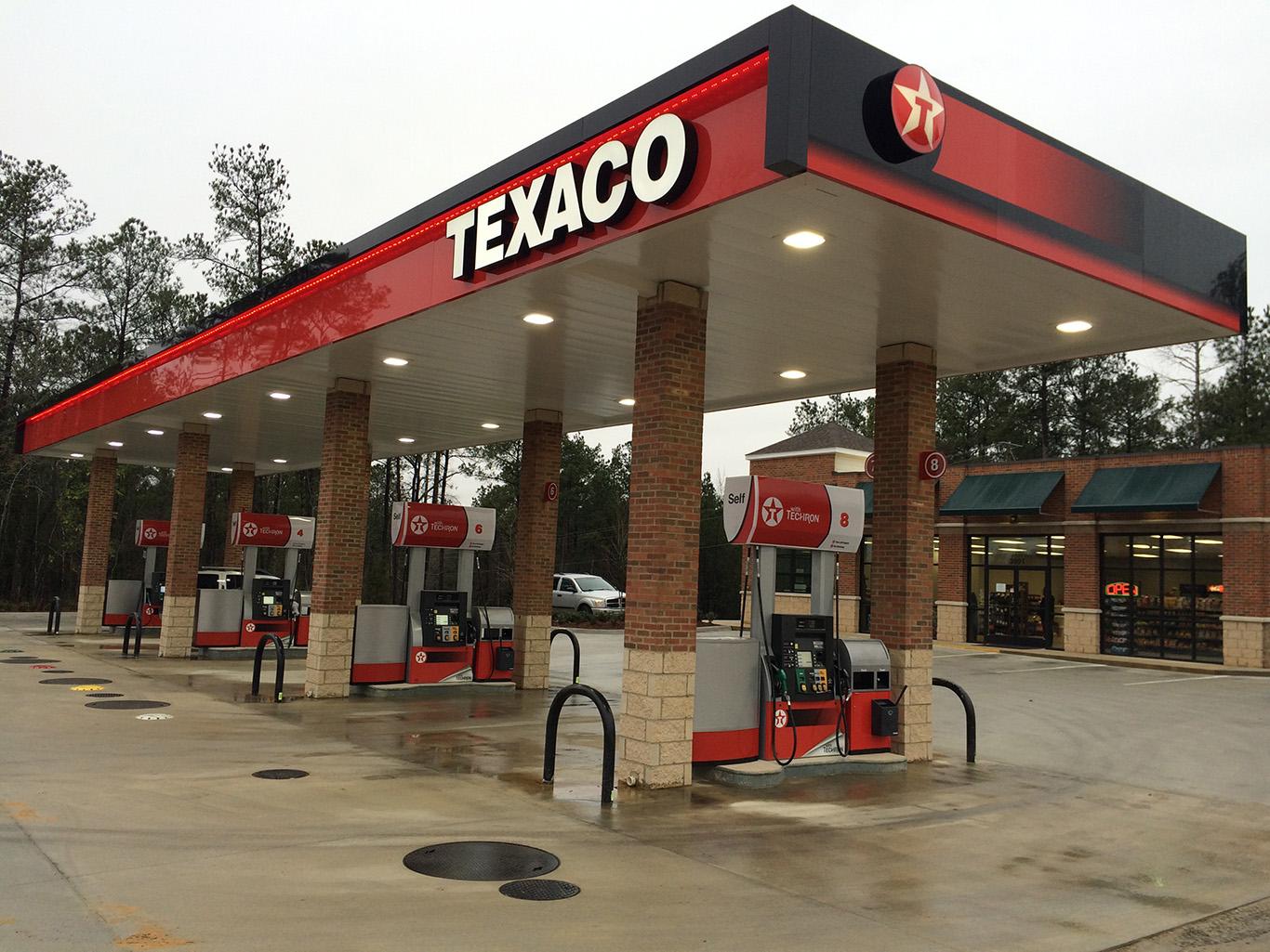 Car Wash Vacuum >> Texaco – C&S Canopy