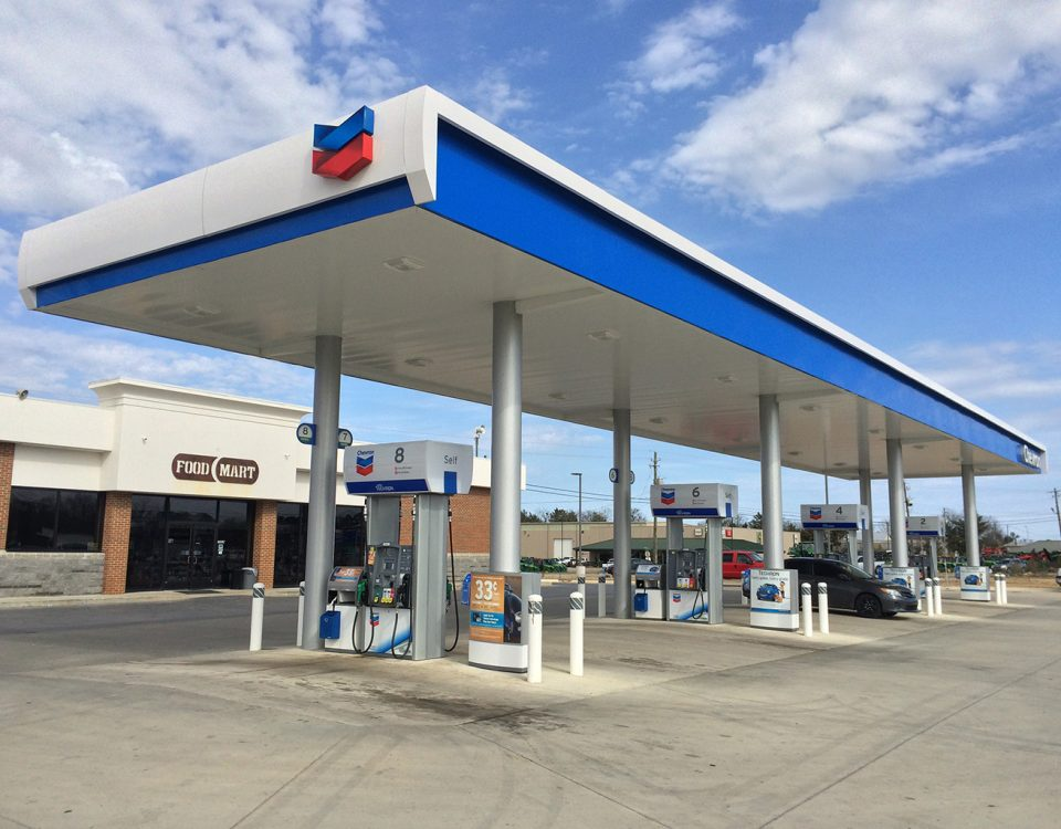 Gas Stations – C&S Canopy