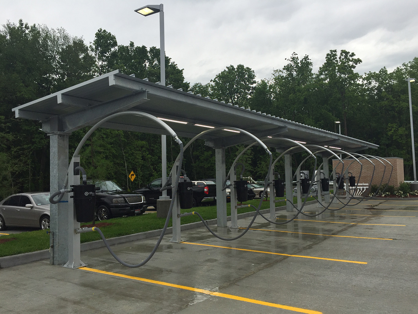 Gas Stations With Car Wash >> Car Washes/Vacuum Canopies – C&S Canopy